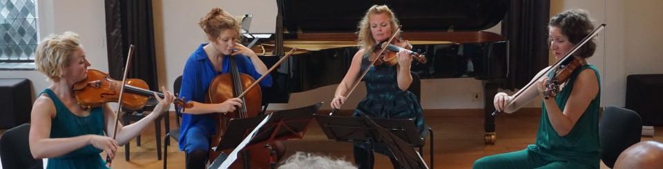Ragazze Quartet lanceerde 11 september Amersfoort Klassiek